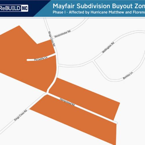 Mayfair Subdivision: Piccadilly Circle and Hampstead Road