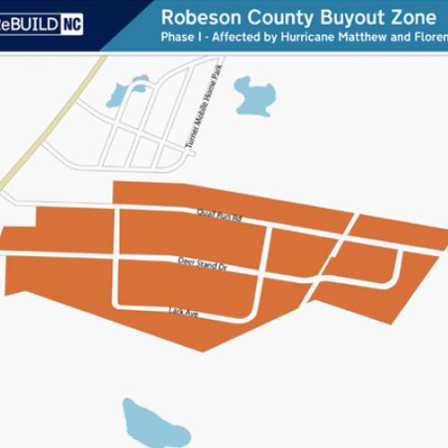 Robeson County: Quail Run Rd and Deer Stand Rd, and Lark Ave
