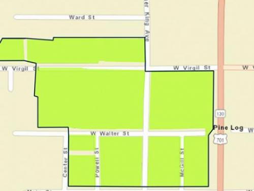 Whiteville buyout zone map