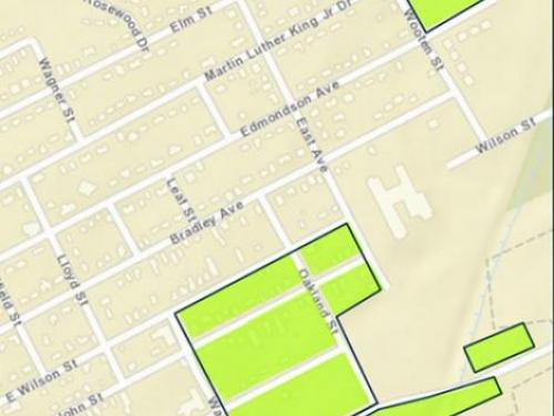Tarboro buyout zone map