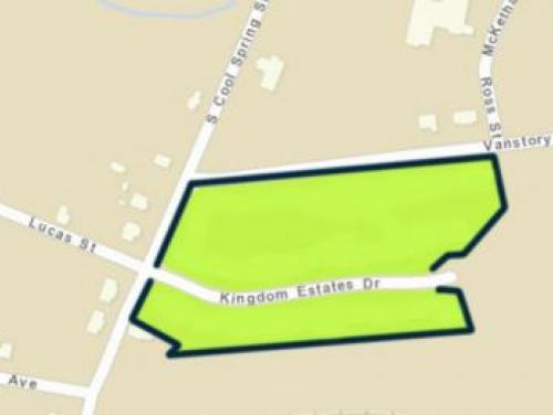 Fayetteville buyout zone map