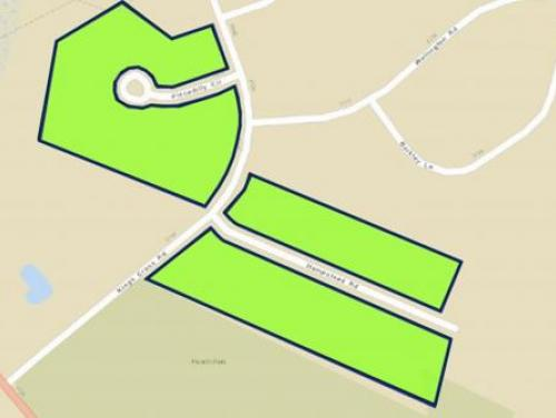 Mayfair Subdivision buyout zone map