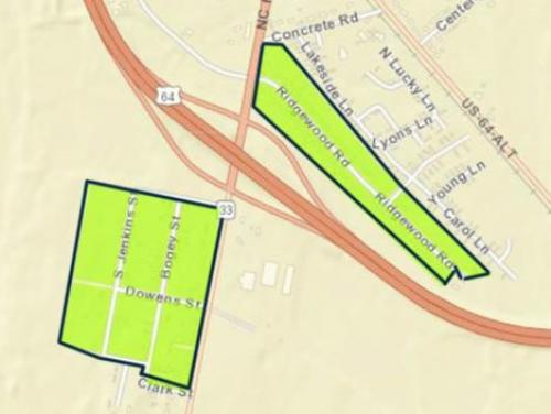 South Princeville buyout zone map