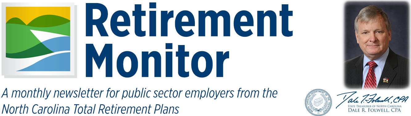 Retirement Monitor header