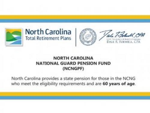 Screenshot of the NC National Guard Pension Fund Overview
