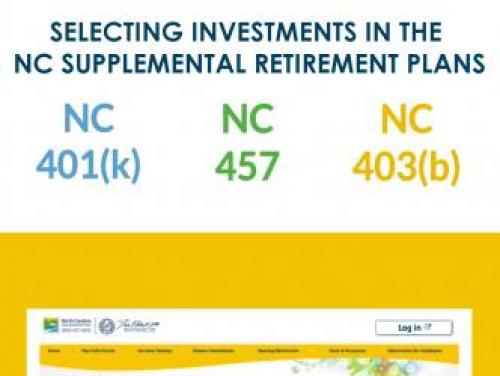 Screenshot of first view of video Selecting Investments in the NC Supplemental Retirement Plans