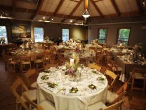 Wedding reception in the Event Room at Roanoke Island Festival Park