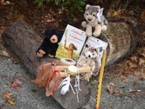 American Indian themed toys from the Museum Store at Roanoke Island Festival Park