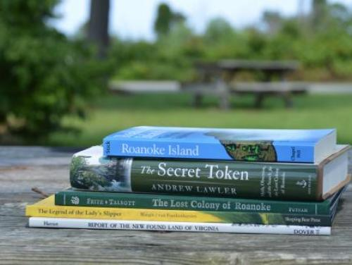 Books and literature at the Museum Store at Roanoke Island Festival Park
