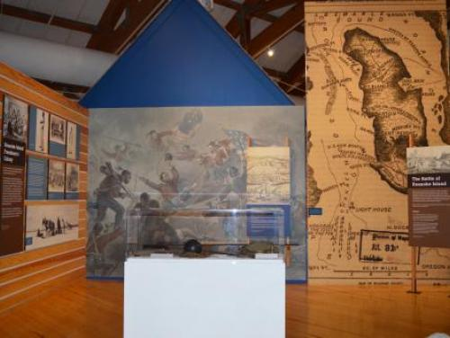 Freedmen's Colony exhibit in the Adventure Museum at Roanoke Island Festival Park