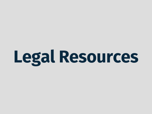 """""""Legal Resources"""""""