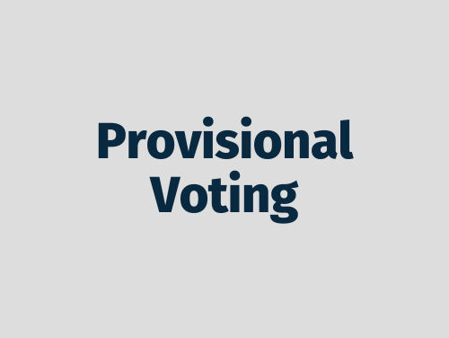 """Provisional Voting"""