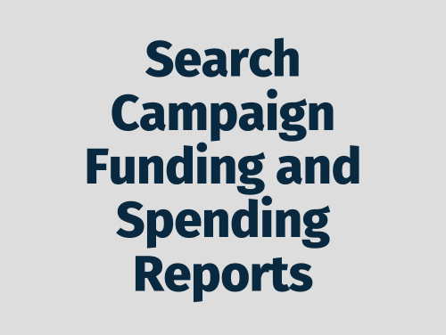 """""""Search Campaign Funding and Spending Reports"""""""
