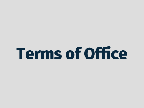 """Terms of Office"""