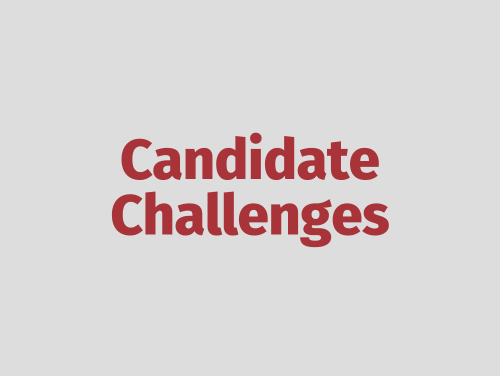 """Candidate Challenges"""