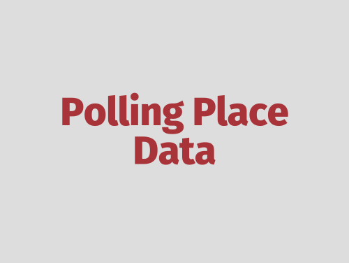 """Polling Place Data"""