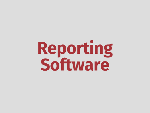 """""""Reporting Software"""""""