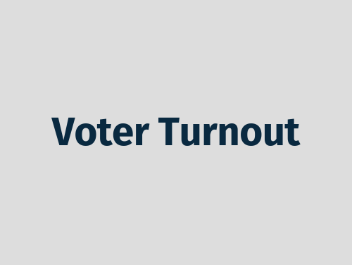 """""""Voter Turnout"""""""