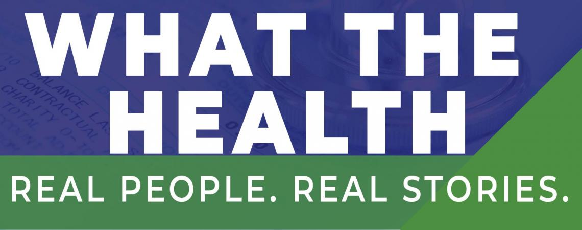 logo for What The Health