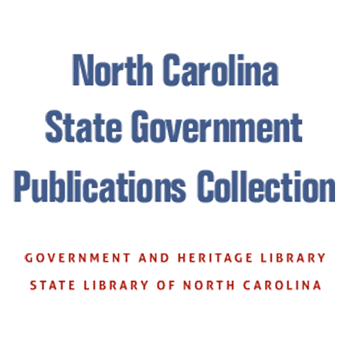NC State Government Publications Collection