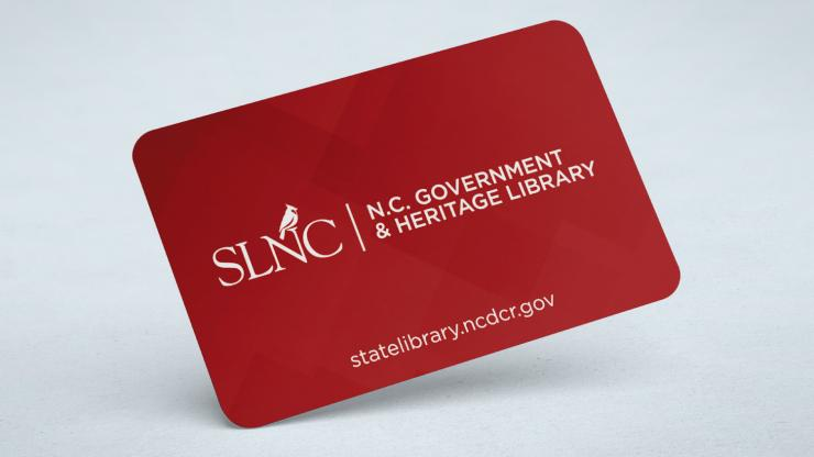 Image of the State Library Government and Heritage Library Card