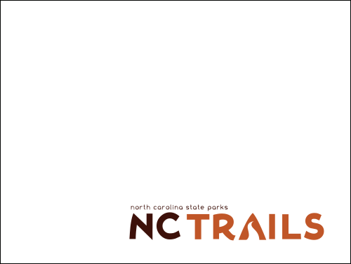 Placeholder for new state trail posters. Blank box with NC Trails website logo.