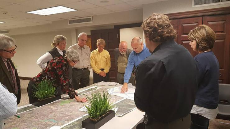 trains planning meeting